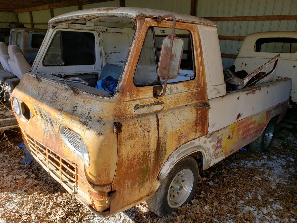 1961 Ford Econoline 3-Window Pickup Truck For Sale in ...