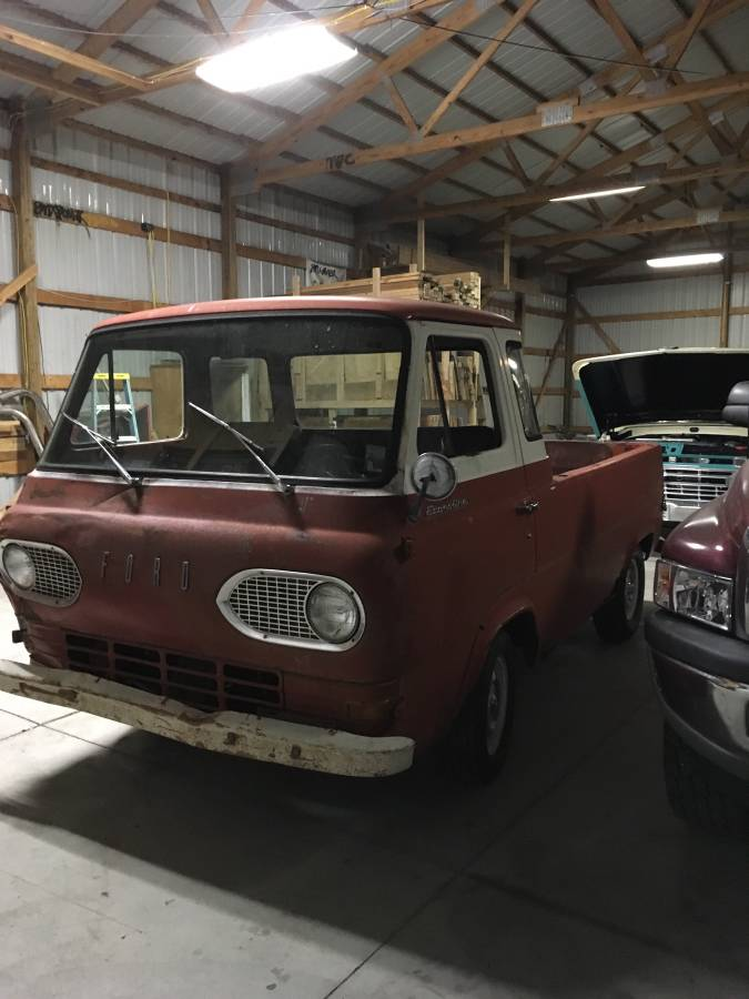 1963 Ford Econoline 170 Inline 6 Pickup Truck For Sale in ...