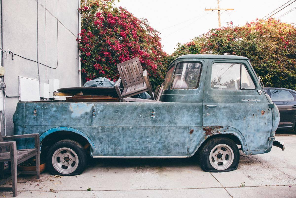1961 Ford Econoline 5-Window Pickup Truck For Sale in ...