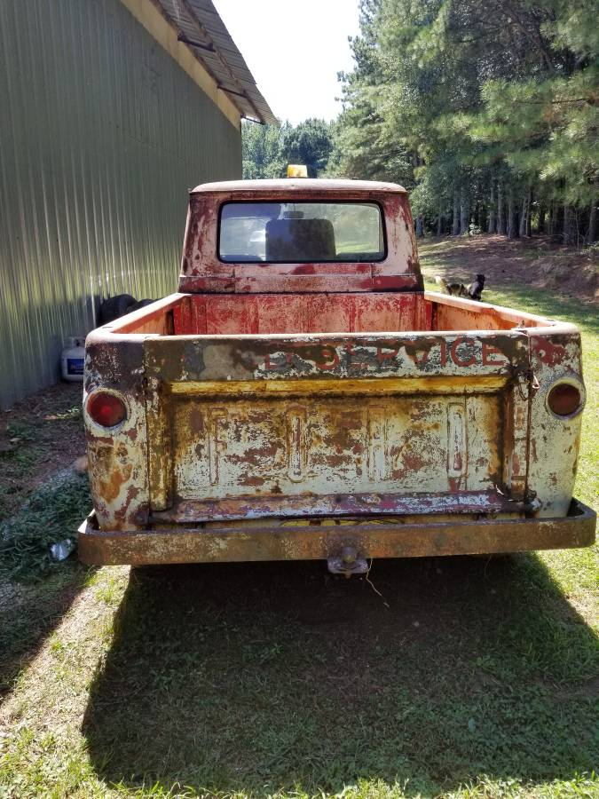 1962 Ford Econoline 3-Window Pickup Truck For Sale in ...