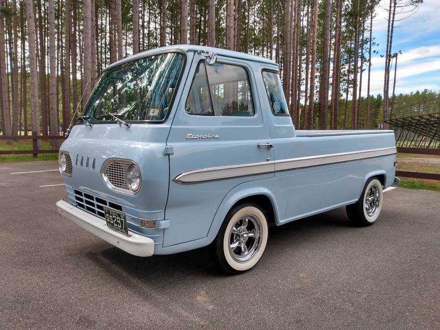 1966 Ford Econoline 3-Speed Manual Pickup Truck For Sale ...