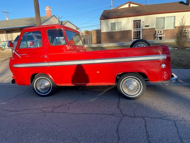 1965 Ford Econoline 2-Speed Manual Pickup Truck For Sale ...