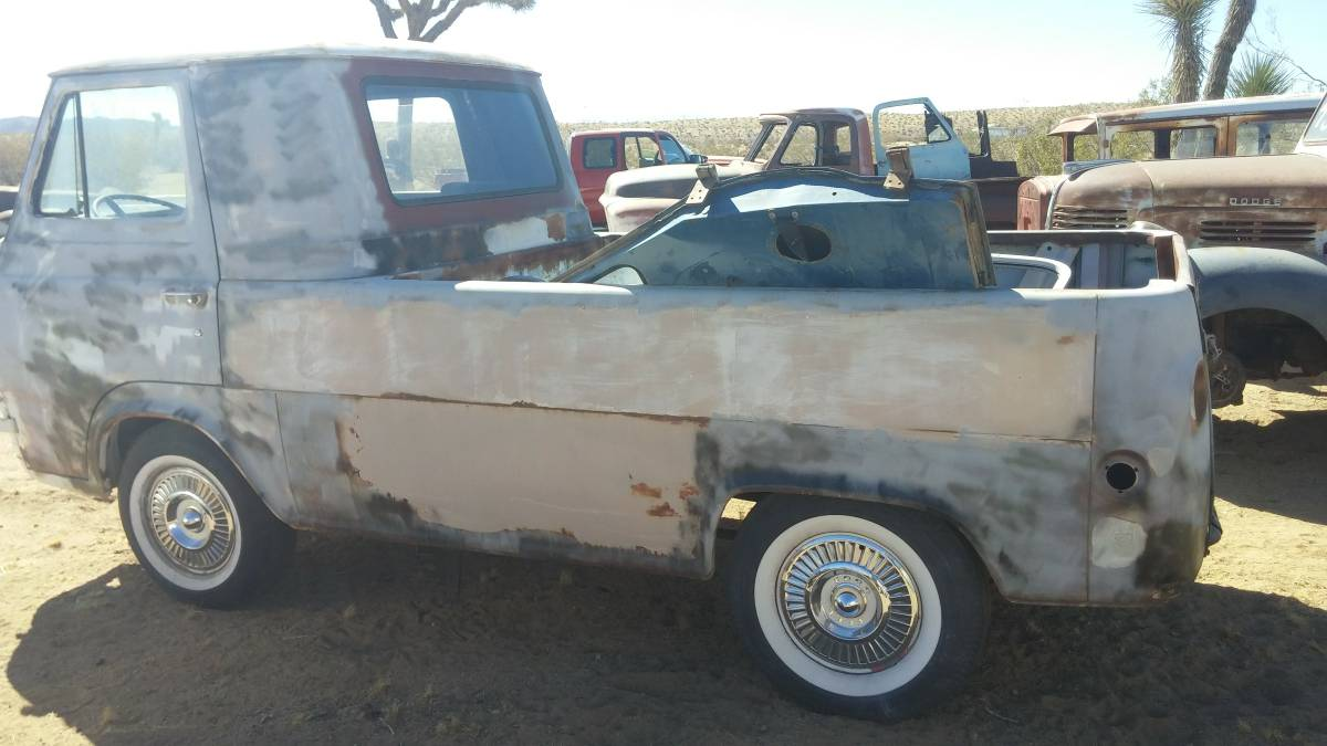 1963 Ford Econoline Pickup Truck For Sale Yucca Valley ...