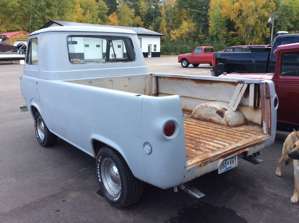 1962 Ford Econoline 3 Speed Manual Pickup Truck For Sale ...