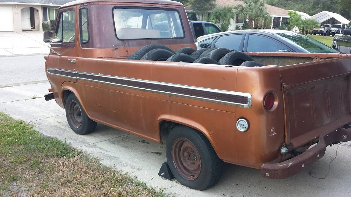 1963 Ford Econoline Project Pickup Truck For Sale in ...