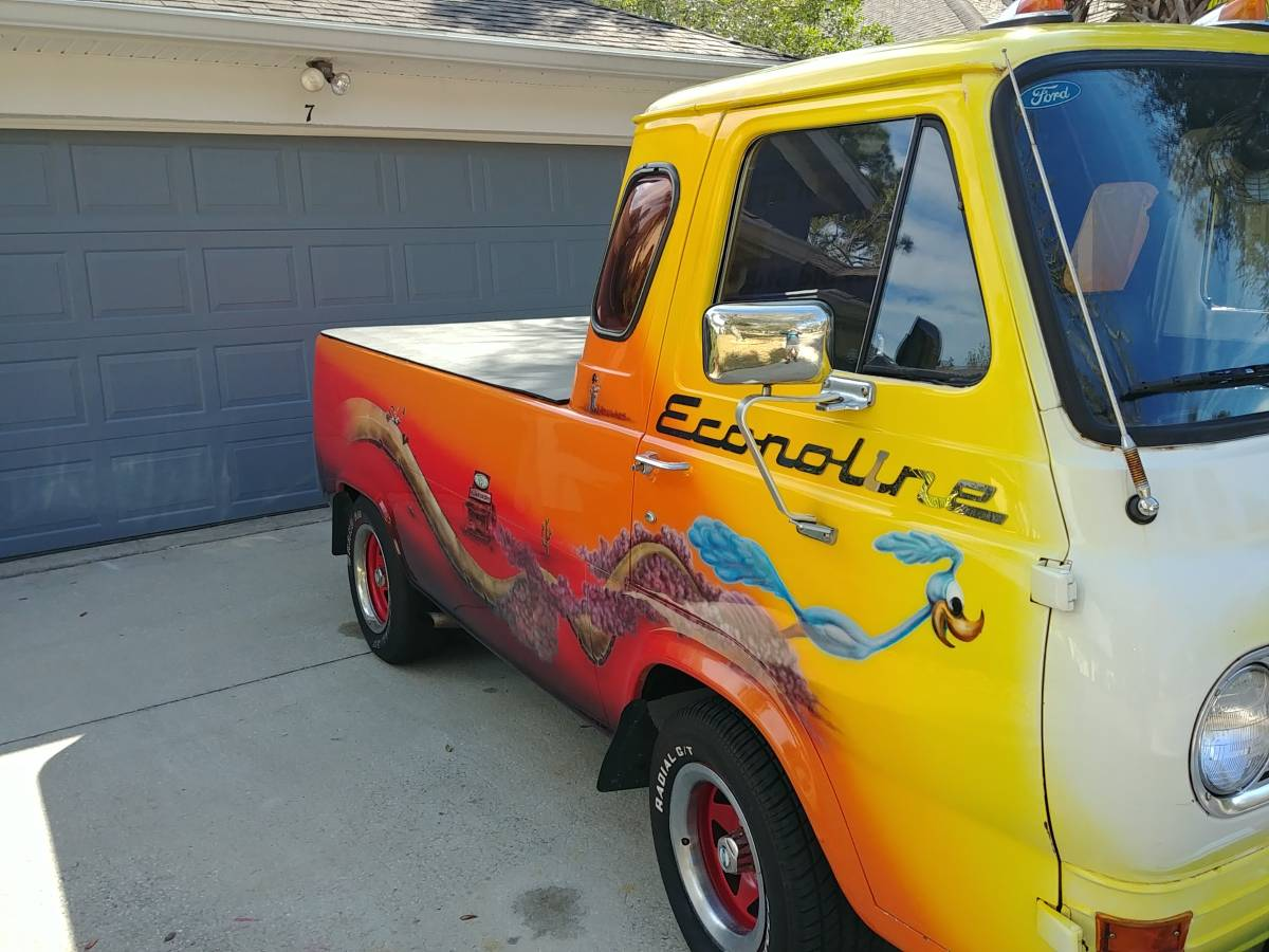 1965 Ford Econoline 5-Window Pickup Truck For Sale in Palm ...