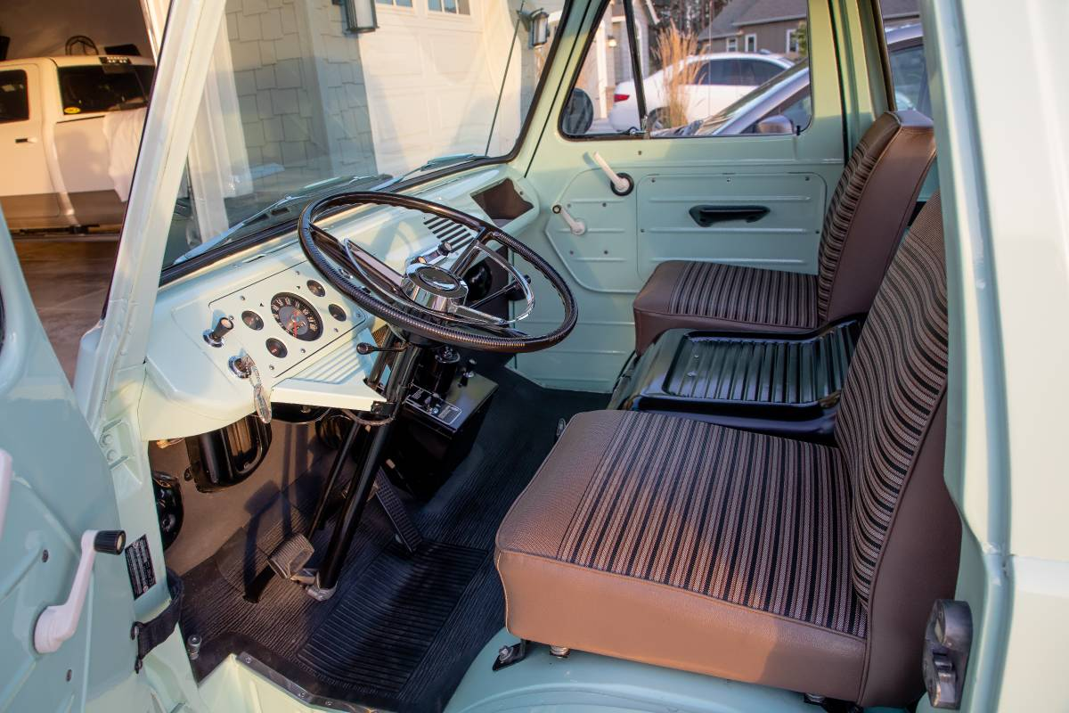 1961 Ford Econoline 144ci 3-Speed Pickup Truck For Sale in ...