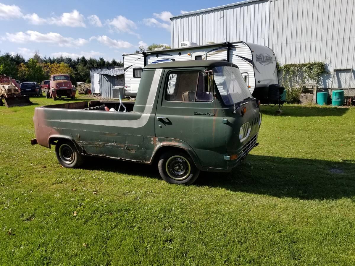 1963 Ford Econoline 3-Window Pickup Truck For Sale in ...
